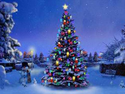 Christmas Tree Wallpaper | FREE Christmas Tree Wallpaper | Christmas Wallpapers | #10