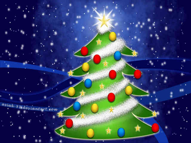 Christmas Tree Wallpaper | FREE Christmas Tree Wallpaper | Christmas Wallpapers | #18