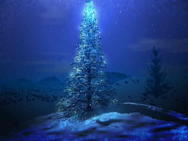 Christmas Tree Wallpaper | FREE Christmas Tree Wallpaper | Christmas Wallpapers | #23