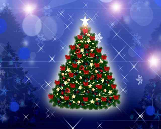 Christmas Tree Wallpaper | FREE Christmas Tree Wallpaper | Christmas Wallpapers | #7