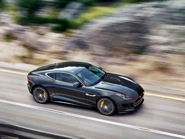 Jaguar F Type R | Jaguar Car | Black Jaguar F Type R | Jaguar Wallpapers | #10