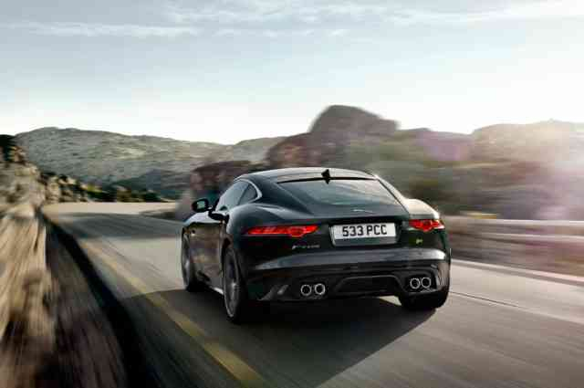 Jaguar F Type R | Jaguar Car | Black Jaguar F Type R | Jaguar Wallpapers | #7