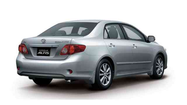 Toyota Corolla Altis | Toyota Corolla Images - Wallpapers | #5