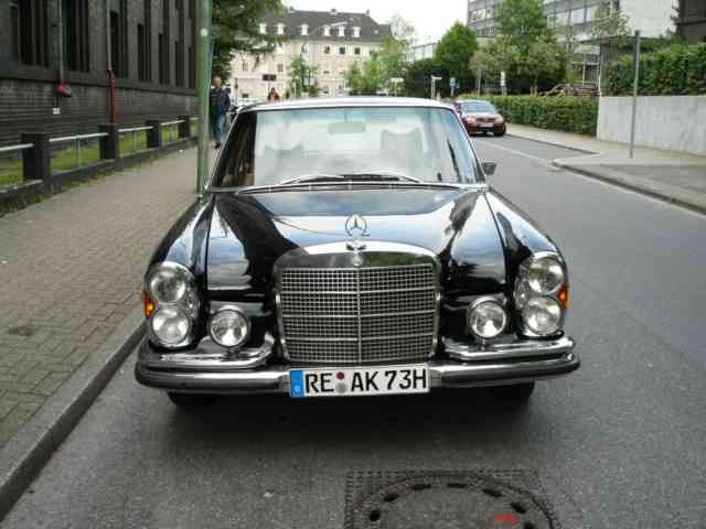 1972 Mercedes-Benz 280 SL Roadster |Black Old Mercedes 280 | #2