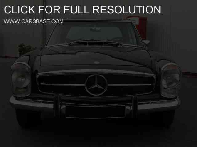 1972 Mercedes-Benz 280 SL Roadster |Black Old Mercedes 280 | #3