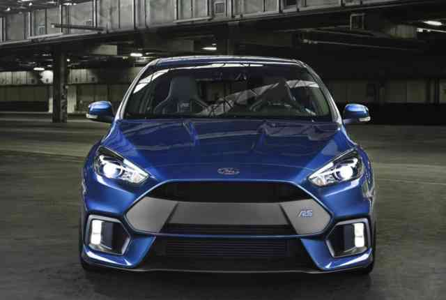 2016 Ford Focus RS revealed; 2.3T & AWD confirmed