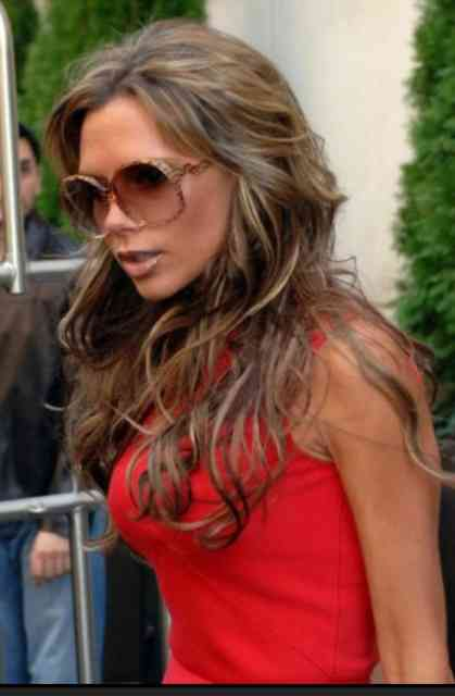Extensions Victoria Beckham Hairstyle