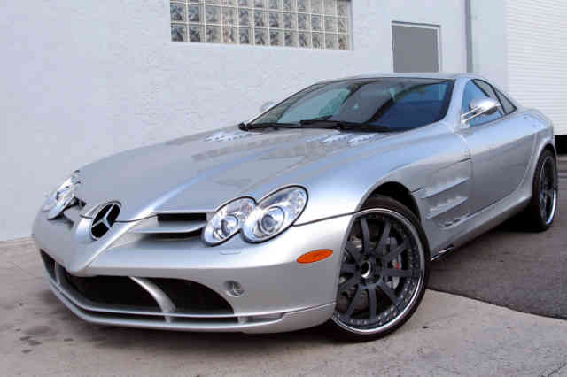 Mercedes-McLaren SLR | MERCEDES MCLAREN Wallpapers | #15