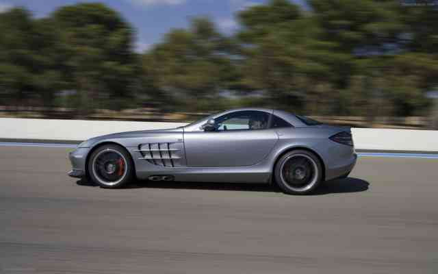 Mercedes-McLaren SLR | MERCEDES MCLAREN Wallpapers | #18