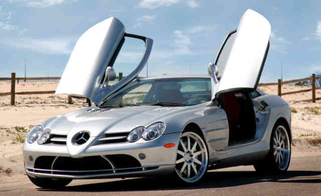 Mercedes-McLaren SLR | MERCEDES MCLAREN Wallpapers | #20