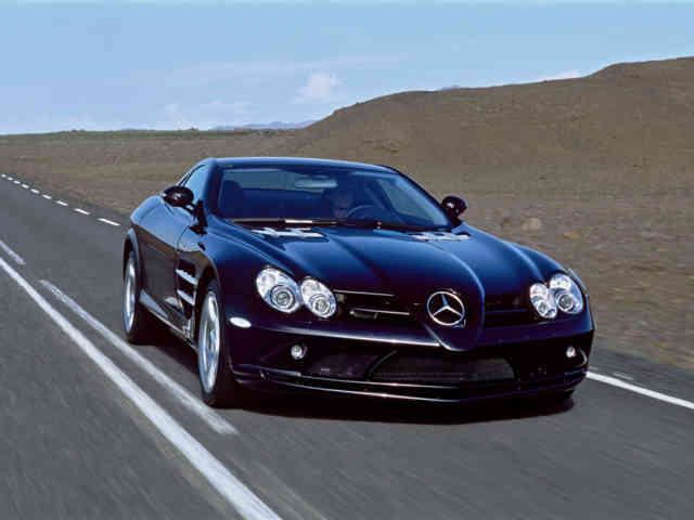 Mercedes-McLaren SLR | MERCEDES MCLAREN Wallpapers | #21