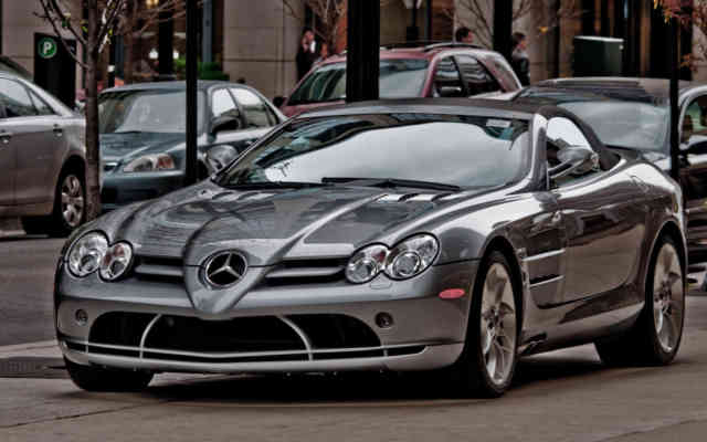 Mercedes-McLaren SLR | MERCEDES MCLAREN Wallpapers | #27