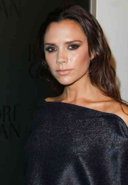 Normal Victoria Beckham Brown Hairstyles