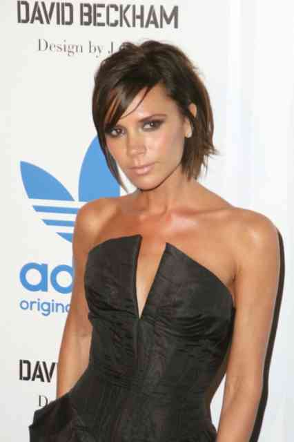 Super Hot Victoria Beckham Brown Hairstyles