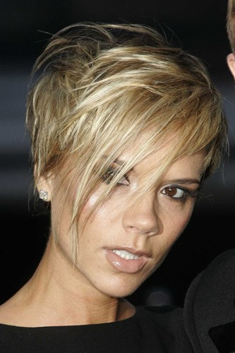 Victoria Beckham Blond Hair