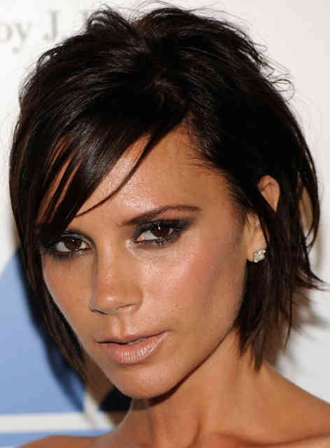 Victoria Beckham Brown Hair