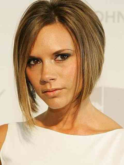 Victoria Beckham Chestnut Blond Hair