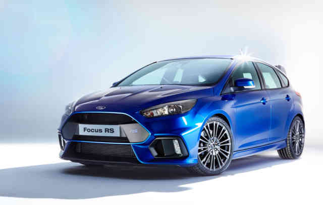 Yes, the 2016 Ford Focus RS Has a Drift Mode for All You Oversteer