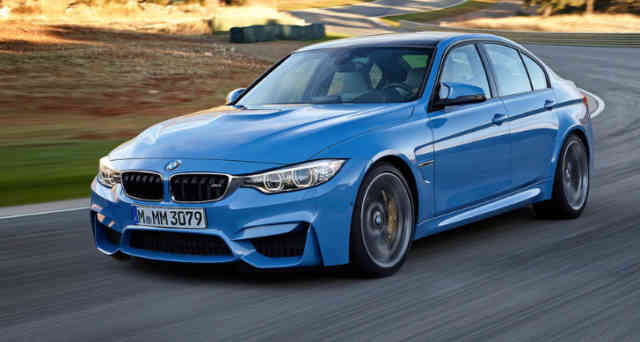 2014 BMW M3 Germany Blue Sky