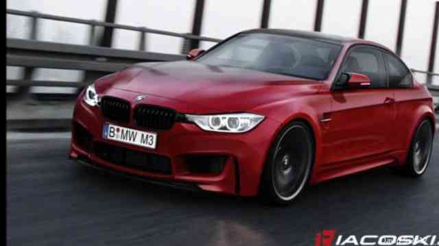 2015 BMW 335i Super RED Car