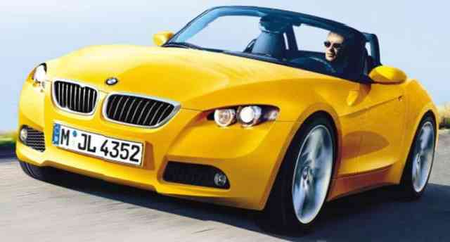 2015 BMW Z2 Roadster Yellow | BMW HD