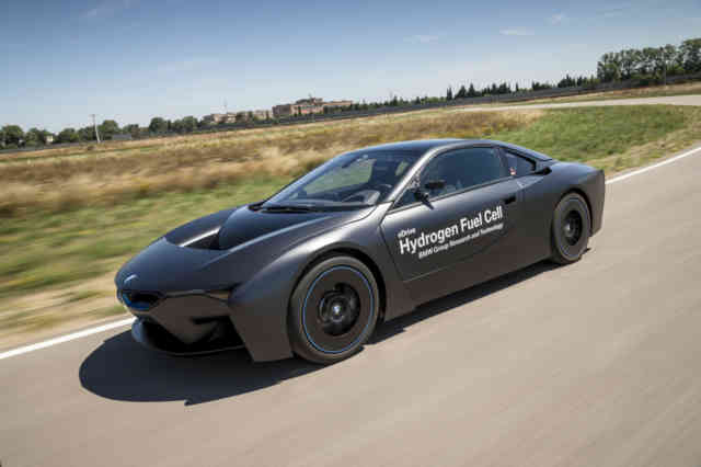 BMW Car Hydrogen fuel cell