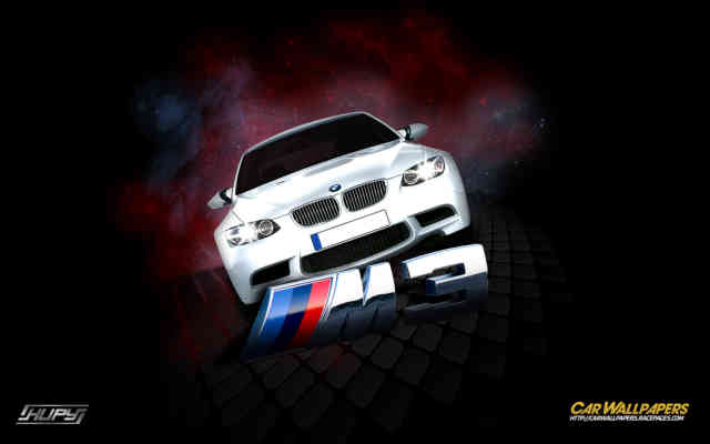 BMW M3 V8 Logo 3D HD Cell Phone | BMW Logo VECTOR | BMW Wallpapers #4
