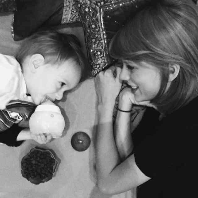 Baby with Taylor Swift Instagram