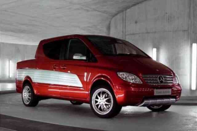 Mercedes Viano Activity Red with Mag