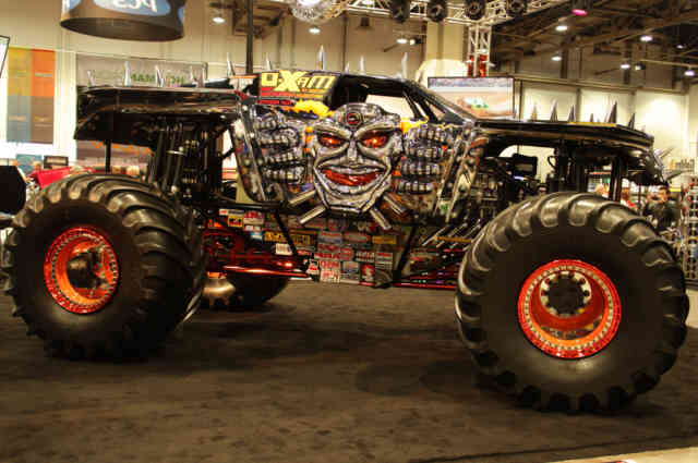 Skull Monster Truck Rally HD Wallpapers | Pickup Truck