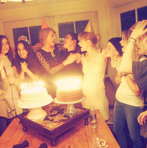 Taylor Swift & Selena Gomez | Taylor Swift Instagram