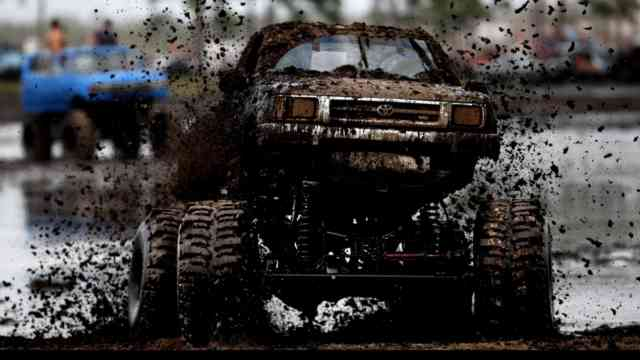 Toyota Monster Truck Rally HD Wallpapers | Pickup Truck