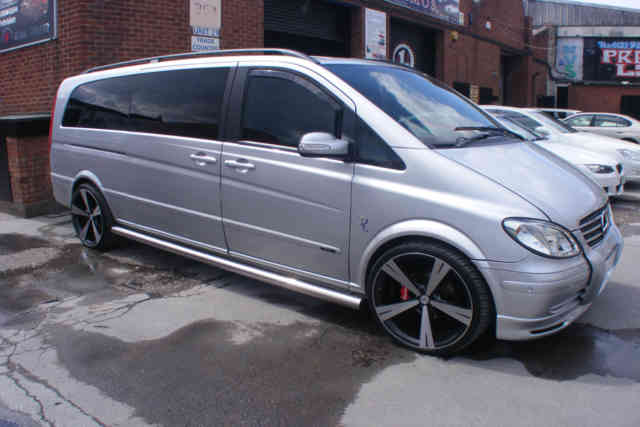 Used Family Mercedes Viano Silver