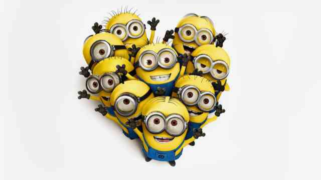 9 Minions Wallpapers