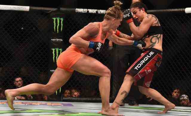 Good Holly Holm Punch UFC Photos, Images