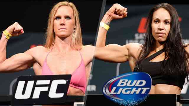 Holly Holm vs Marion Reneau UFC Photos, Images