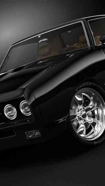 Iphone Backgrounds HD Muscle Car