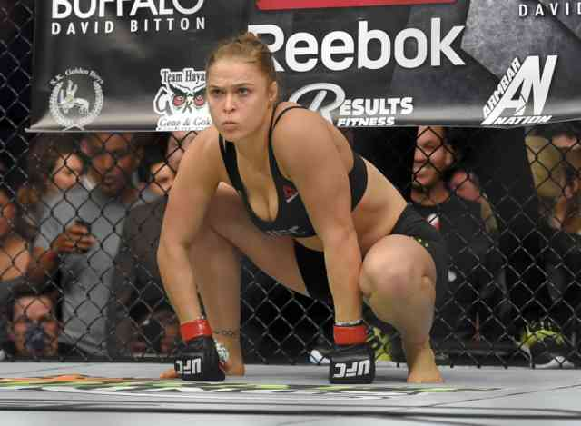 Monkey Position Ronda Rousey Wallpapers