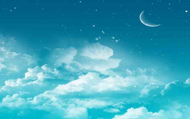 Night Moon Sky Wallpapers