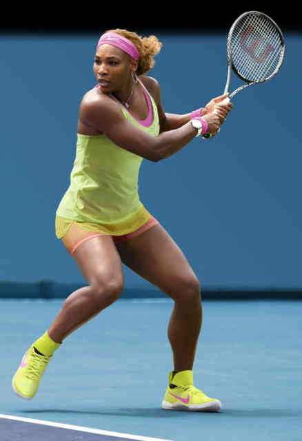 Australian Open Tennis 2015 Serena Play