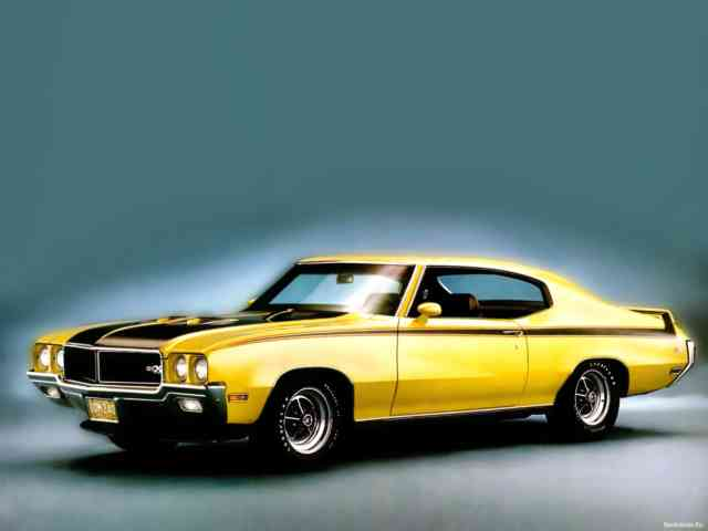 Best Muscle Cars | American Muscle Cars 1970 Buick GSX