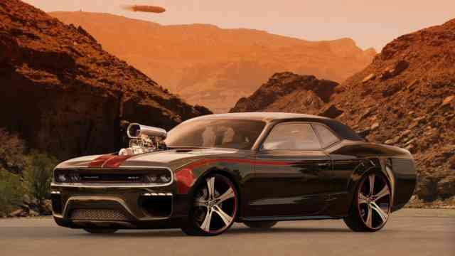 Best Muscle Cars Challenger SRT