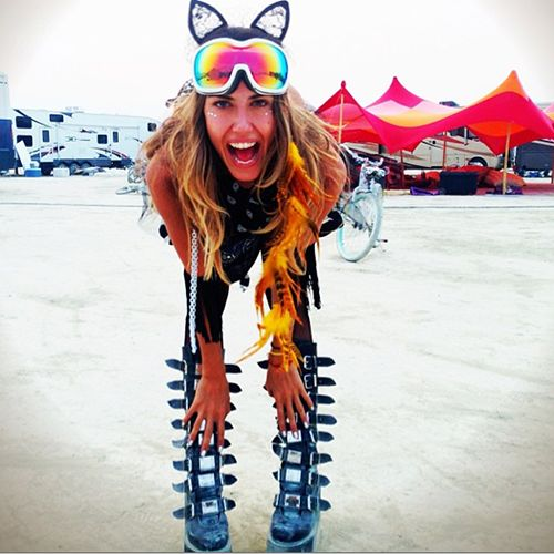 Burning Man 2015 Photos Hot Girl