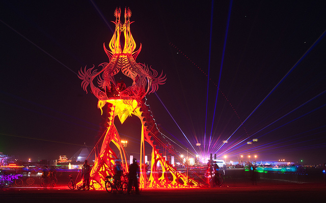 Burning Man Art  | Dragon Statue