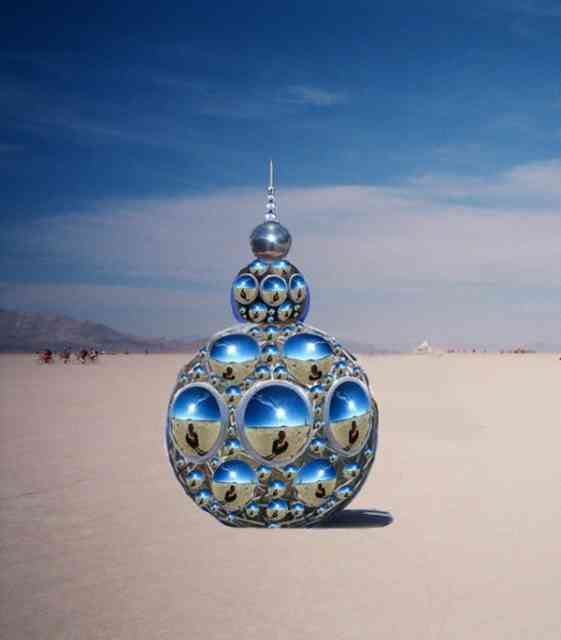 Burning Man Art  | Earring Statue