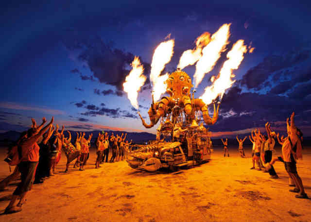Burning Man Art  | Indonesian Statue