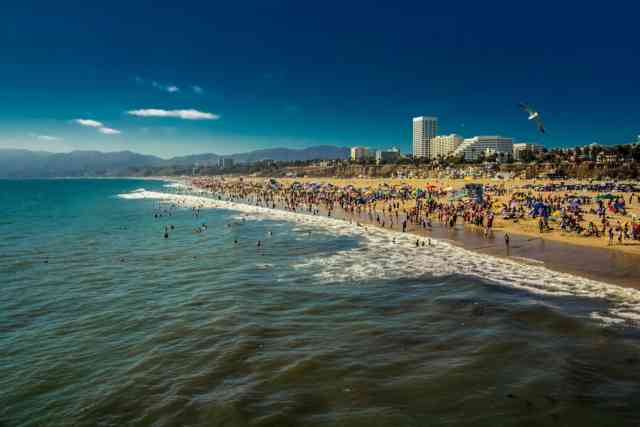 Santa Monica California BEACH | Santa Monica Ca | #1
