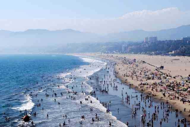 Santa Monica California BEACH | Santa Monica Ca | #2