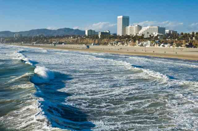 Santa Monica California Beach | Santa Monica Ca | #5