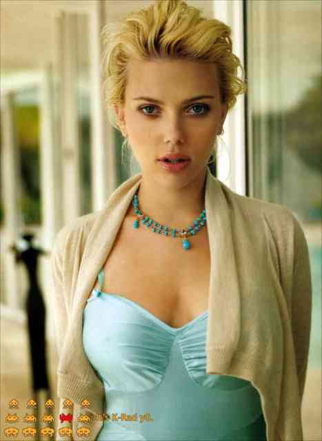 Scarlett Johansson Fashion mode